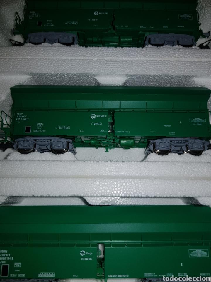 Trenes Escala: ROCO HO SET 3 TOLVAS VERDES RENFE REF.45986 - Foto 6 - 183699965