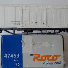 Trains Échelle: VAGON CERRADO DE ROCO REF :47463 DE LA DB-AG ESCALA HO. Lote 184027502