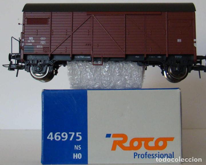 VAGON CERRADO DE ROCO REF :46975 DE LA NS ESCALA HO (Juguetes - Trenes a Escala H0 - Roco H0)