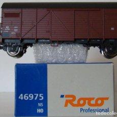 Trenes Escala: VAGON CERRADO DE ROCO REF :46975 DE LA NS ESCALA HO. Lote 197615440