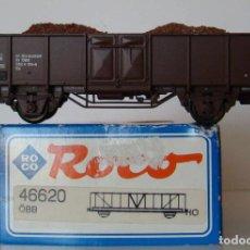 Trenes Escala: VAGON ABIERTO CON CARGA DE ARENA DE ROCO REF :46620 DE LA OBB ESCALA HO. Lote 197615428