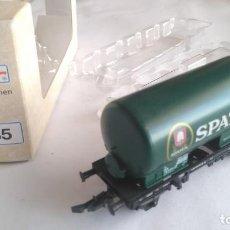 Trenes Escala: ROCO H0 VAGÓN CISTERNA EN CAJA, VÁLIDO IBERTREN,FLEISCHMANN,MARKLIN, ETC. Lote 184224492
