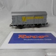 Trenes Escala: VAGÓN CERRADO ESCALA HO DE ROCO . Lote 184497483