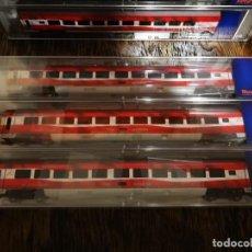 Trenes Escala: COMPOSICIÓN 7 VAGONES ROCO RAILJET ÖBB H0 . Lote 186308101