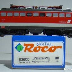 Trenes Escala: LOCOMOTORA ELECTRICA ROCO DE LA OBB DIGITAL REF 63600. Lote 186352323