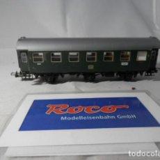 Trenes Escala: VAGÓN PASAJEROS 3 EJES DE LA DB ESCALA HO DE ROCO . Lote 190884470