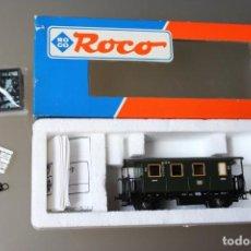 Trenes Escala: ROCO. COCHE VIAJEROS 2ª CLASE ESCALA H0. Lote 191308956