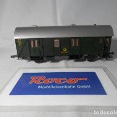Trenes Escala: VAGÓN FURGON POSTAL ESCALA HO DE ROCO . Lote 191330627