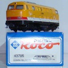 Trenes Escala: LOCOMOTORA DIESEL COMSA DE ROCO REF: 43795 DIGITALIZADA ESCALA H0. Lote 191438681