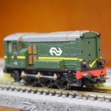 Trenes Escala: ROCO H0 LOCOMOTORA-TRACTOR DIESEL SERIE 5/600, DE LA N.S., REFERENCIA 43471.. Lote 191832370