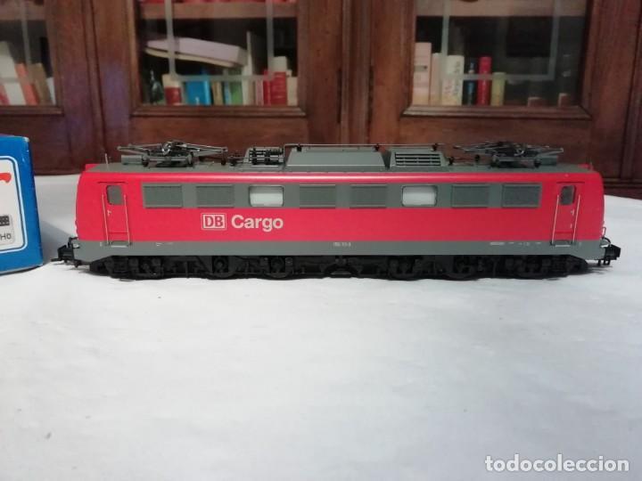 Trenes Escala: Roco H0 63710 Locomotora Eléctrica Cargo BR 150 111-3 DB Nuevo New OVP - Foto 3 - 191894262