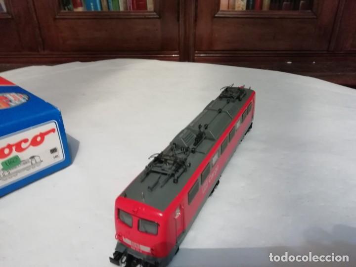 Trenes Escala: Roco H0 63710 Locomotora Eléctrica Cargo BR 150 111-3 DB Nuevo New OVP - Foto 5 - 191894262