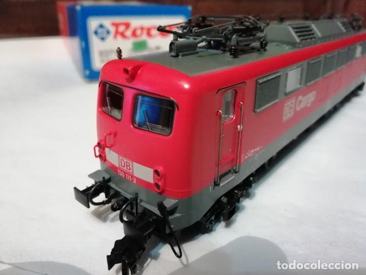 Trenes Escala: Roco H0 63710 Locomotora Eléctrica Cargo BR 150 111-3 DB Nuevo New OVP - Foto 6 - 191894262