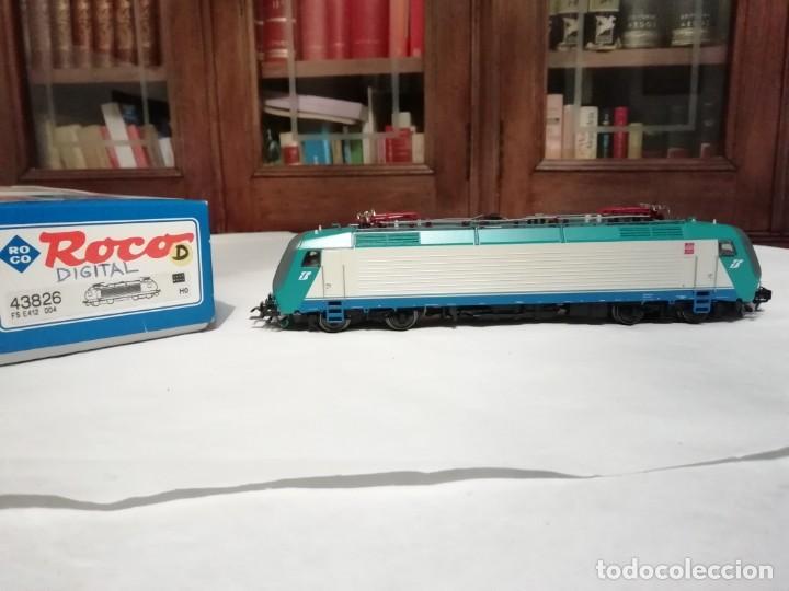 ROCO H0 43826 LOCOMOTORA ELÉCTRICA 412.004 FS DIGITAL NUEVO NEW OVP (Juguetes - Trenes a Escala H0 - Roco H0)