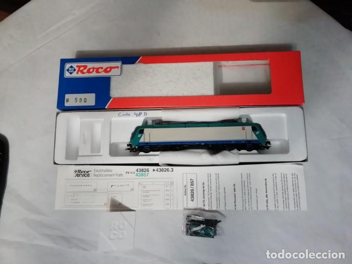 Trenes Escala: Roco H0 43826 Locomotora Eléctrica 412.004 FS Digital Nuevo New OVP - Foto 2 - 191896158