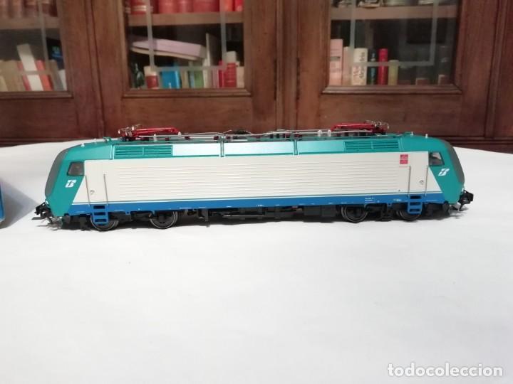 Trenes Escala: Roco H0 43826 Locomotora Eléctrica 412.004 FS Digital Nuevo New OVP - Foto 3 - 191896158