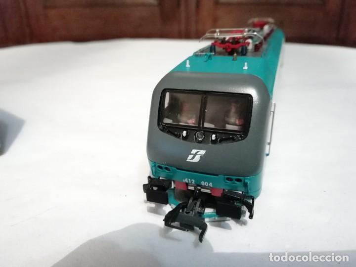 Trenes Escala: Roco H0 43826 Locomotora Eléctrica 412.004 FS Digital Nuevo New OVP - Foto 4 - 191896158