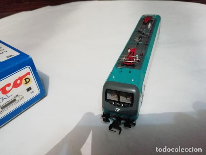 Trenes Escala: Roco H0 43826 Locomotora Eléctrica 412.004 FS Digital Nuevo New OVP - Foto 5 - 191896158