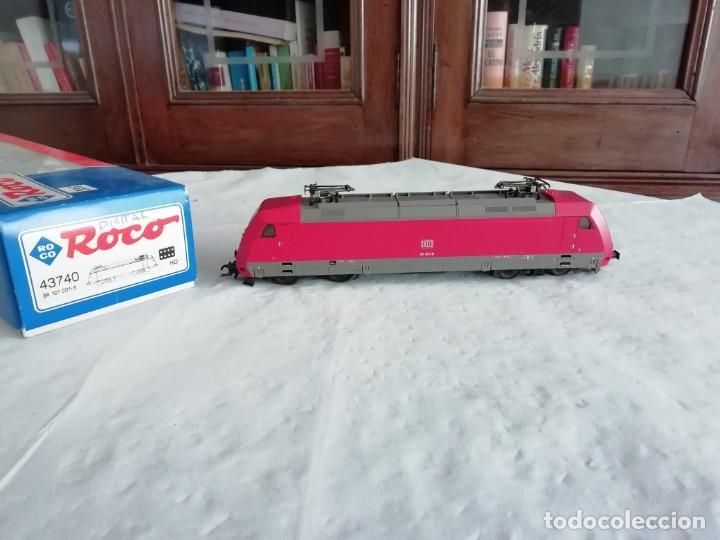 ROCO H0 43740 LOCOMOTORA ELÉCTRICA BR 101 001-5 DB DSS DIGITAL NUEVO NEW OVP (Juguetes - Trenes a Escala H0 - Roco H0)