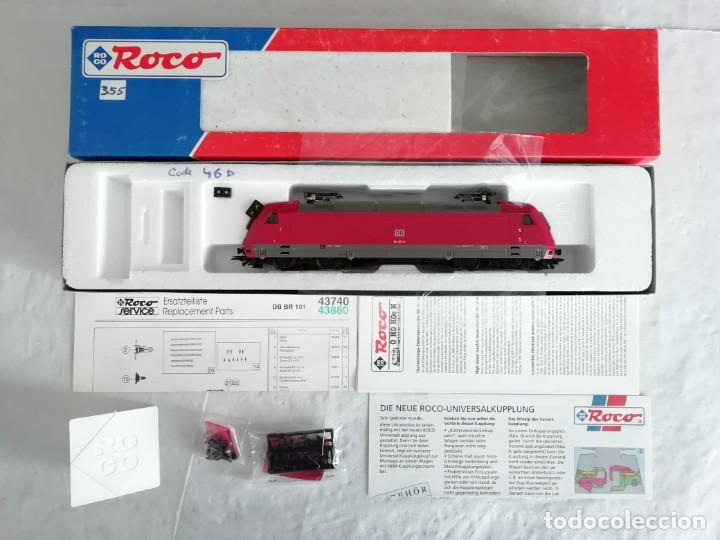 Trenes Escala: Roco H0 43740 Locomotora Eléctrica BR 101 001-5 DB DSS Digital Nuevo New OVP - Foto 2 - 191896246