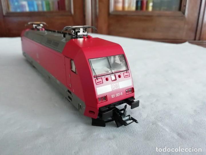 Trenes Escala: Roco H0 43740 Locomotora Eléctrica BR 101 001-5 DB DSS Digital Nuevo New OVP - Foto 5 - 191896246