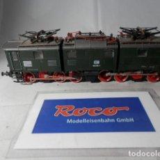 Trenes Escala: LOCOMOTORA ELECTRICA SUIZA ESCALA HO DE ROCO. Lote 193355627