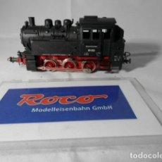 Trenes Escala: LOCOMOTORA VAPOR ESCALA HO DE ROCO. Lote 193743250