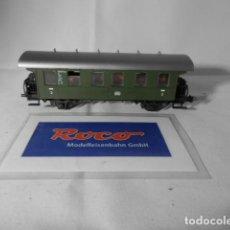 Trenes Escala: VAGÓN PASAJEROS 2 EJES ESCALA HO DE ROCO . Lote 193743742