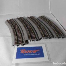 Trenes Escala: LOTE VIAS CURVAS ESCALA HO DE ROCO . Lote 193788273