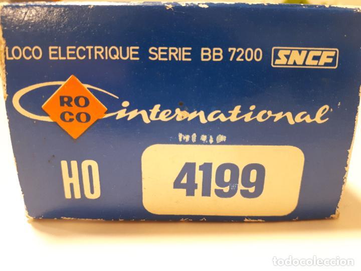 Trenes Escala: Roco HO -Locomotora Electrico Ref 4199-Serie-BB 7201 SNCF - Foto 12 - 193923237