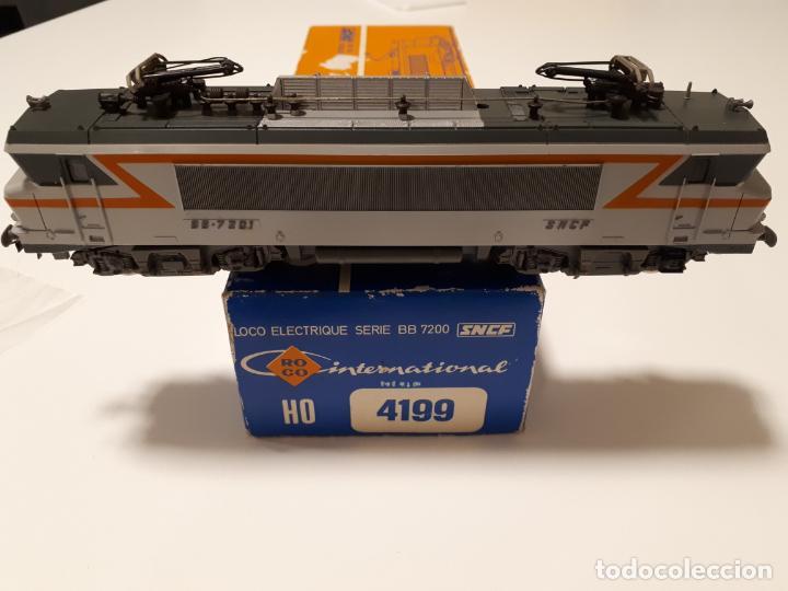 ROCO HO -LOCOMOTORA ELECTRICO REF 4199-SERIE-BB 7201 SNCF (Juguetes - Trenes a Escala H0 - Roco H0)