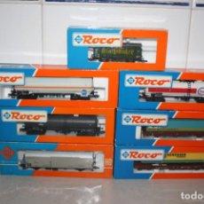 Trenes Escala: LOTE DE VAGONES DE ROCO. Lote 194231395