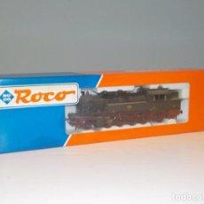 Trenes Escala: LOCOMOTORA ROCO 63260 H0 EN SU CAJA PRÁCTICAMENTE NUEVA. Lote 194551293