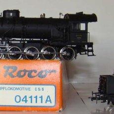 Trenes Escala: LOCOMOTORA DE VAPOR ROCO REF: 4111A ESCALA H0 CC.. Lote 194953117