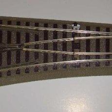 Trenes Escala: DESVIO MANUAL ROCO GEOLINE A IZQUIERDAS ESCALA HO REF.: 61140. Lote 194995375