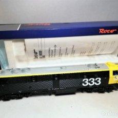 Trenes Escala: ROCO #72976 LOCOMOTORA 333-020-6 RENFE. DIGITAL. SONIDO. Lote 195074591