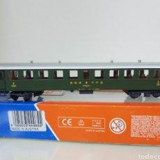 Trenes Escala: VAGÓN DE PASAJEROS SEGUNDA CLASE DE LA SBB ROCO 44465 DE 24CMS. Lote 195211537