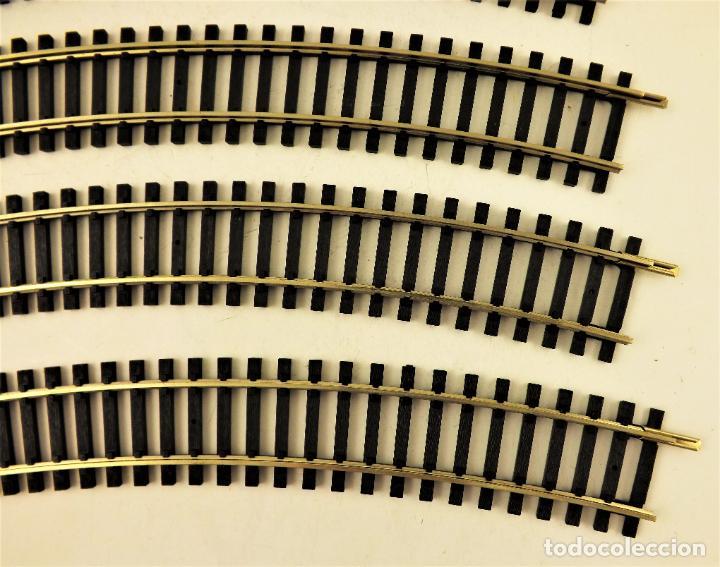 Trenes Escala: Roco 4430 Vias curva H0 6 unidades - Foto 3 - 211643134