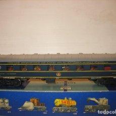 Trenes Escala: POCHER DE LA SBB CORRIENTE CONTINUA - ESCALA H0 CON LUZ. Lote 197246235
