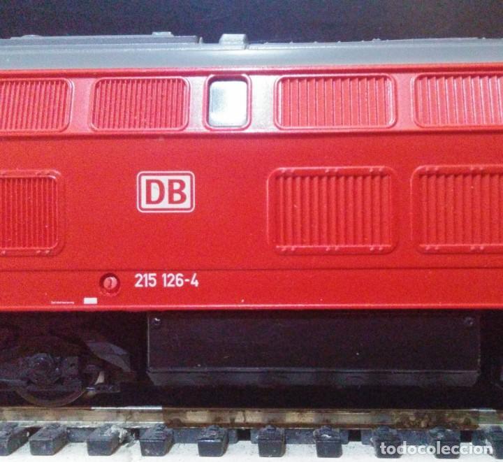 Trenes Escala: Locomotora Diesel ROCO 63490 DB-AG 215 126-4 - Foto 3 - 197482057