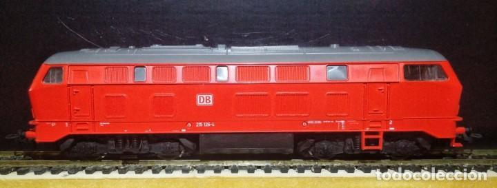 Trenes Escala: Locomotora Diesel ROCO 63490 DB-AG 215 126-4 - Foto 4 - 197482057