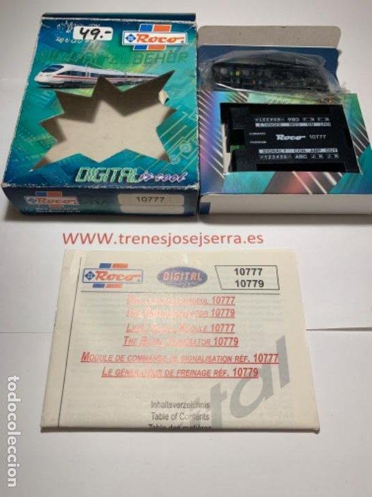 ROCO 10779. PARA DIGITALIZAR SEÑALES (Juguetes - Trenes a Escala H0 - Roco H0)