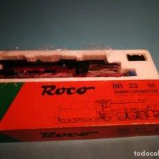Trenes Escala: ROCO LOCOMOTORA BR 23 ALTERNA ANALÓGICA. Lote 201193066