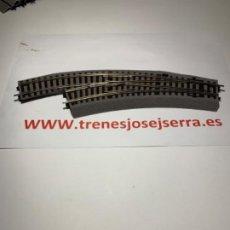 Trenes Escala: ROCO LINE DESVIOS IZQUIERDA BWL2/3 MANUALES NUEVOS. Lote 201335135