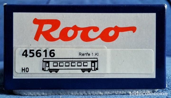 Trenes Escala: ROCO 45616 RENFE Coche pasajeros 10.000 1ª Clase. - Foto 5 - 201553038