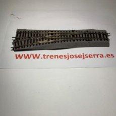 Trenes Escala: ROCO LINE DESVIOS IZQUIERDA WL 15 MANUALES NUEVOS. Lote 202733287