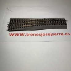 Trenes Escala: ROCO LINE DESVIOS IZQUIERDA WL 15 MANUALES NUEVOS. Lote 202908037