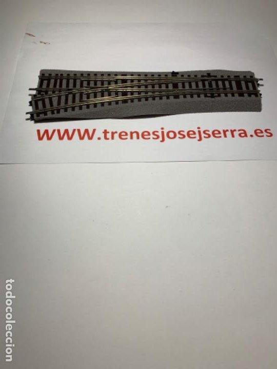 ROCO LINE DESVIOS IZQUIERDA WL 15 MANUALES NUEVOS (Juguetes - Trenes a Escala H0 - Roco H0)