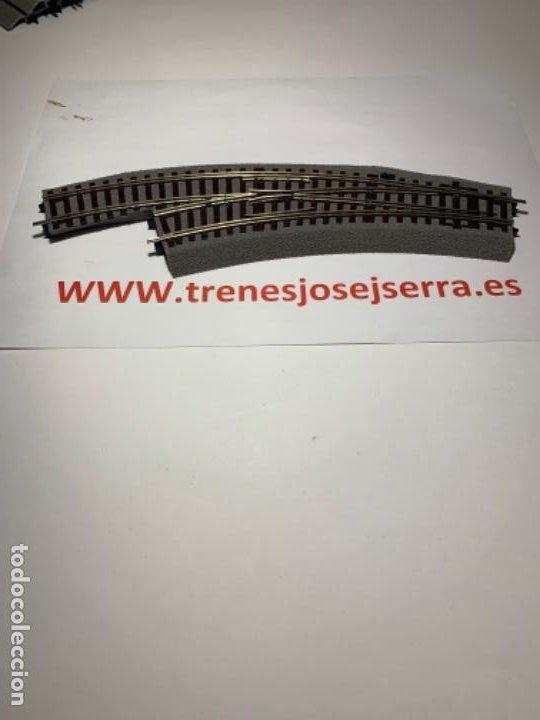 ROCO LINE DESVIOS IZQUIERDA BWL2/3 MANUALES NUEVOS (Juguetes - Trenes a Escala H0 - Roco H0)