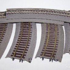 Trenes Escala: ROCO. SEIS VÍAS CURVAS R2 CON BALASTO. Lote 203258660